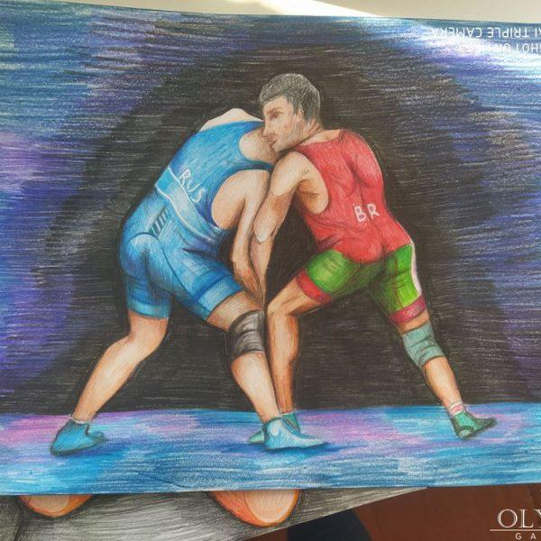 «Зимние виды спорта» Козлова Мария 14 лет, ГУО «Дрибинская СШ»