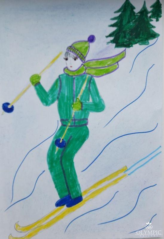 «Лыжник» Субботин Артём, 6 лет, ГУО Ясли-сад № 96, г. Могилёв
