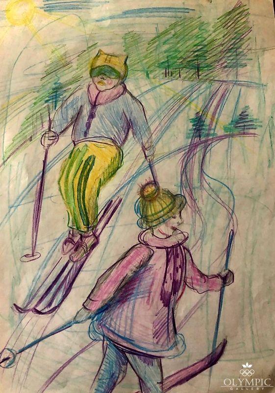 «Лыжные гонки» Демидова Есения 6 лет, ГУО Ясли-сад № 96, г. Могилёв