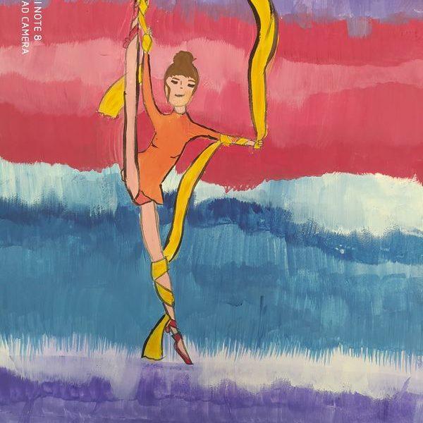 «Моя любимая гимнастика!» Дивина София 10 лет, Минск СШ№111
