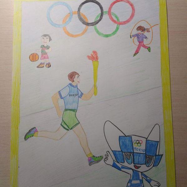 Открытие олимпийских игр, Гудковский Евгений, 8 лет, Минск