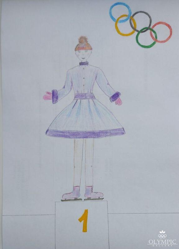 «Фигуристка» Мельчина София, 6 лет, ГУО Ясли-сад № 96, г. Могилёв