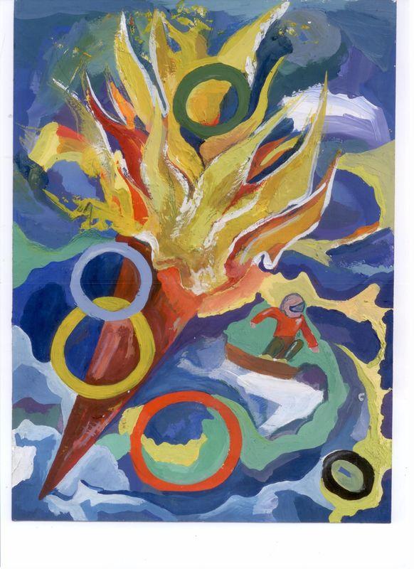 «Факел из Олимпии» Беляцкая Александра, 15 лет Новополоцк, «СШ №14»