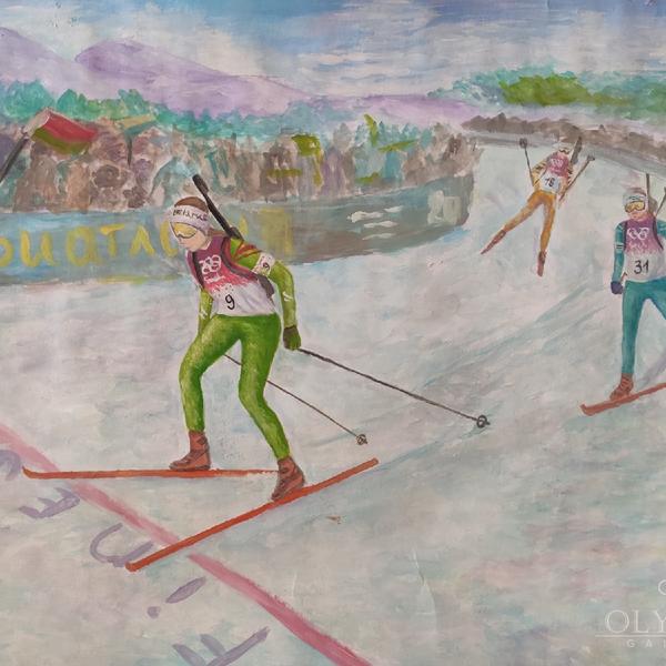 «Белорусский биатлон», Уфаль Мария, 14 лет, ГУО Гимназия № 71, г.Гомель