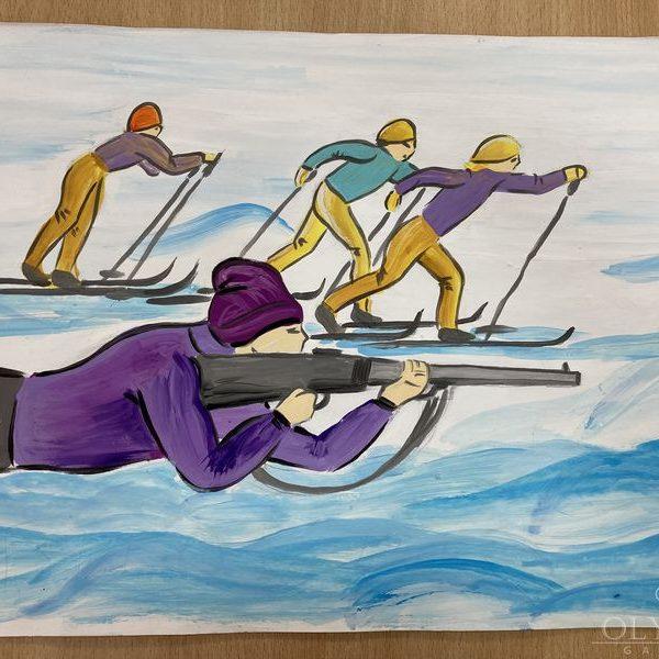 «Биатлон», Татарчук Мария, 11 лет, ГУ Центр дополнительного образования детей и молодёжи, г.Пинск
