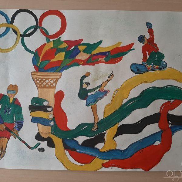 «Виват, Олимпиада!», Чубарова Ангелина, 6 лет, ГУО Ясли-сад №48, г.Могилев