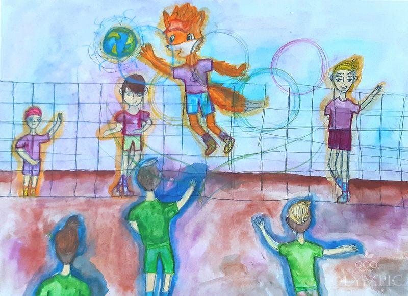 Волейбол с Лесиком, Демченко Виолетта, 11 лет, ГУО СШ№37, г.Могилёв