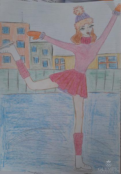 «Волшебный танец», Голубева Вероника, 8 лет, ГУО Гимназия г.п. Глуска