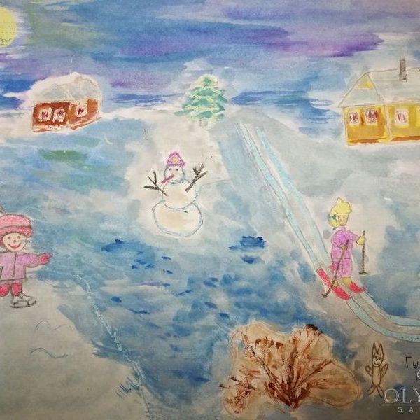 «Гуляй на воздухе», Беловинская Дарья, 7 лет, ГУО СШ№7, г.Могилева