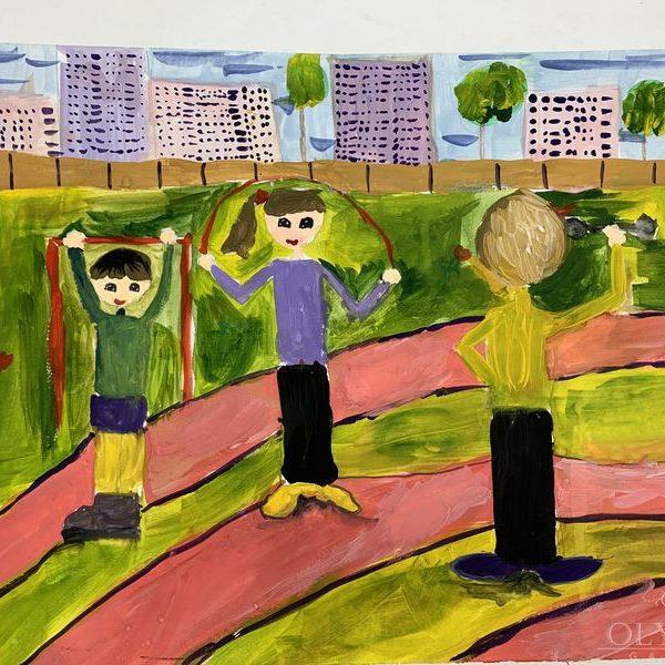 Жизнь в движении, Халимончик Мария, 8 лет, ГУО Мозырский центр творчества детей и молодёж