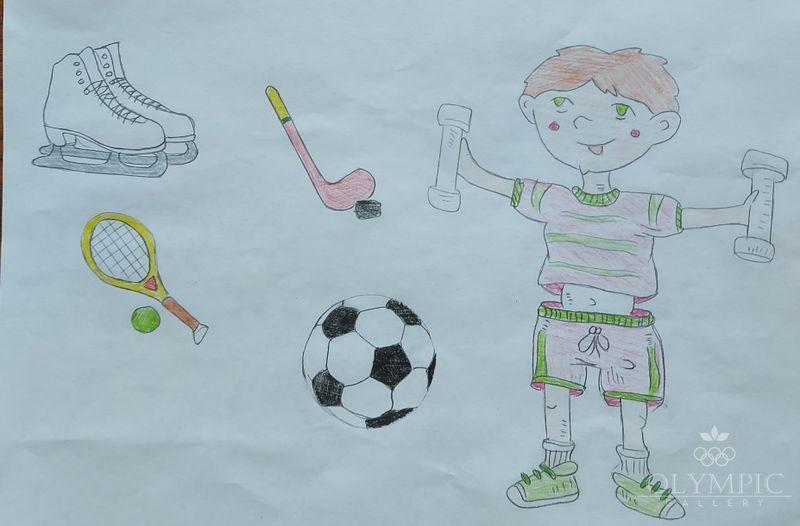 «Занимаемся спортом», Семья Климкова Димы, 4 года, ГУО Ясли-сад №96, г.Могилев