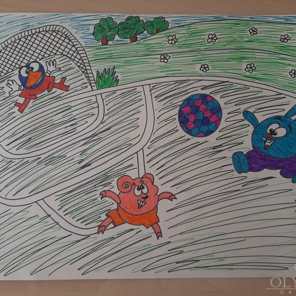 «Мы-олимпийцы», Борщинский Богдан, 5 лет, ГУО Ясли-сад №48, г.Могилев