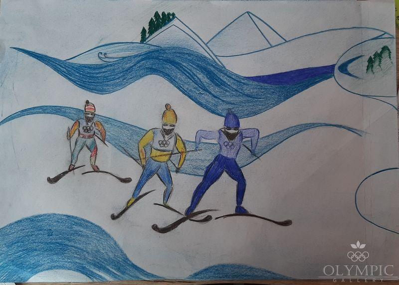 «На пути к олимпийской медали», Подберезкин Влад, 16 лет, ГУО Гимназия г.п. Глуска