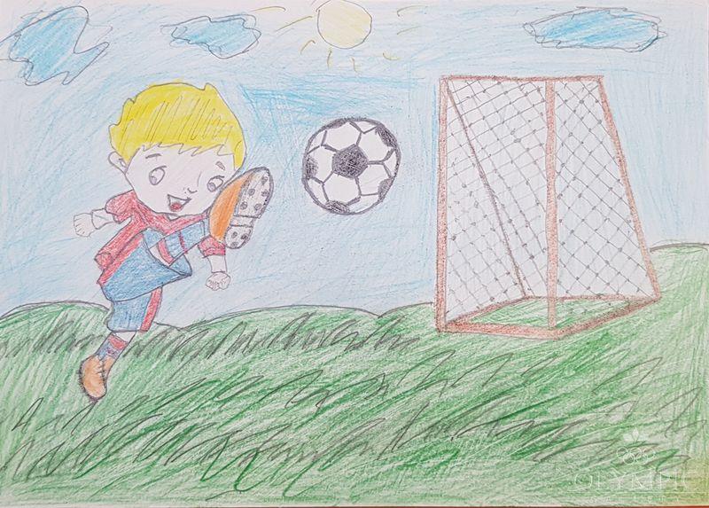 «Пенальти» Зелимов Никита, 11 лет, ГУО СШ№14, г.Мозырь