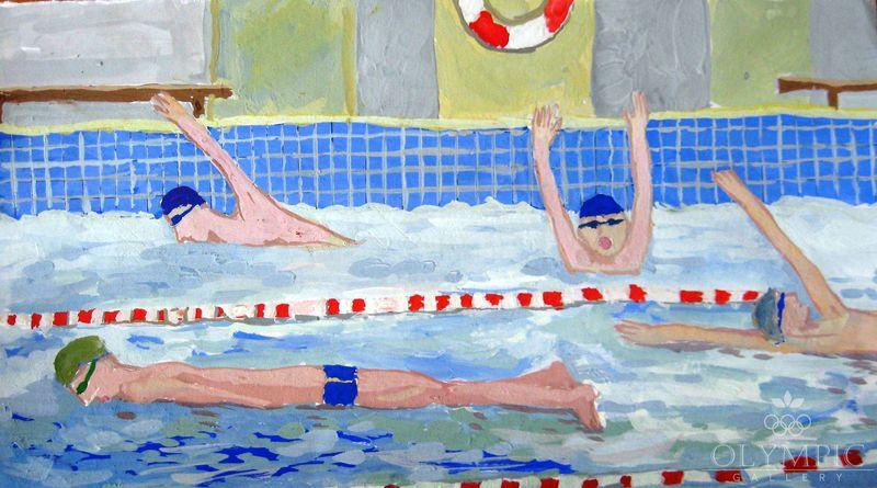 Соревнования по плаванию Богданова Елизавета, 15 лет, ГУО СШ№2, г.Могилев