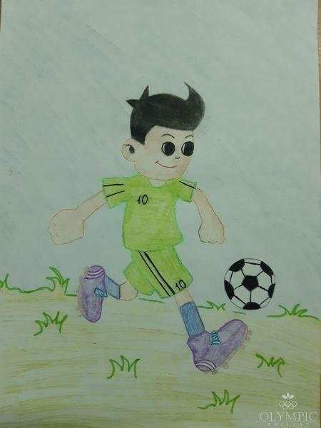 Спортивный дух, Сазоненко Алина, 8 лет, ГУО СШ№37, г.Могилев