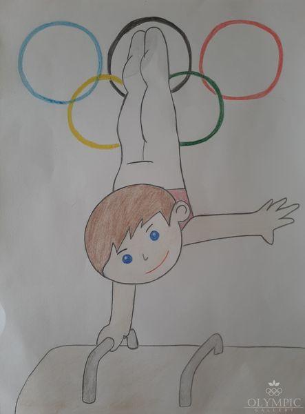 «Спорт-залог здоровья», Чубарова Ангелина, 6 лет, ГУО Ясли-сад №48, г.Могилев