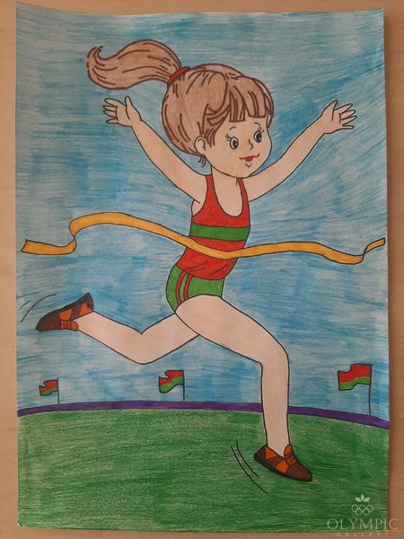 «Ура! Победа!», Титова Алёна, 6 лет, ГУО Ясли-сад №48, г.Могилев