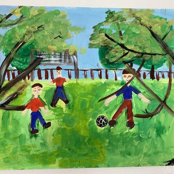 Футболисты, Град Варвара, 8 лет, ГУО Мозырский центр творчества детей и молодёж