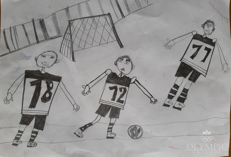 Юные футболисты, Тевянская Мария, 8 лет, ГУО СШ№2, г.Могилёв