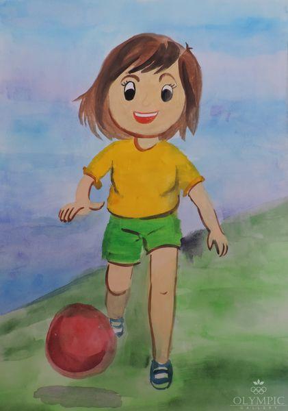 Я и спорт, Усова Дарья, 14 лет, ГУО СШ №2, г.Белынычи
