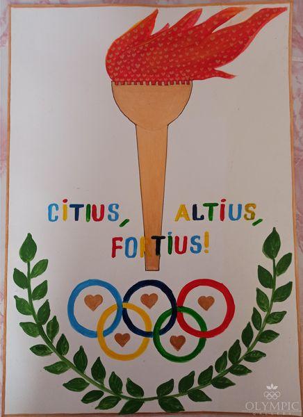 «CITIUS, ALTIUS, FORTIUS!», Лобан Анна, 13 лет, ГУО Ленинский детский сад-средняя школа, аг. Ленин
