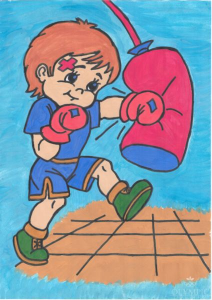 Бокс, Демидович Иван, 7 лет, ГУО СШ№1 г.Гомеля