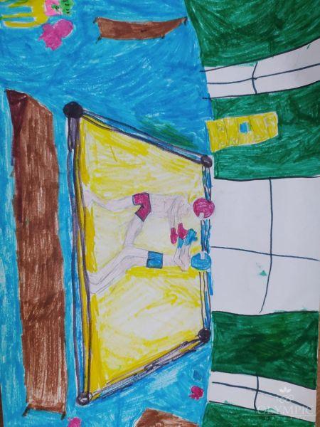 Бокс, Субботина Юлия, 9 лет, Семейная студия Lemari, г. Минск