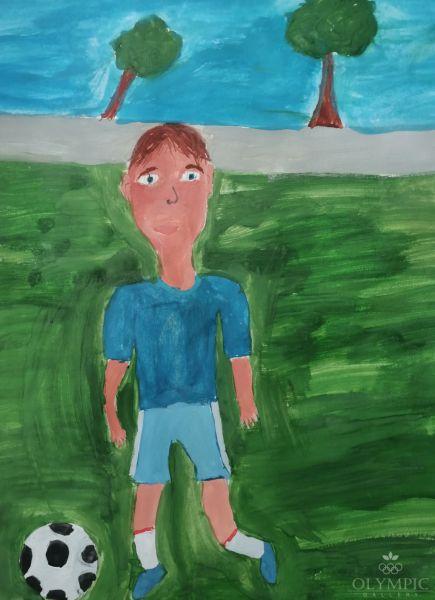 «Будущий чемпион», Мелешенко Владимир, 6 лет, ГУО Ясли-сад д.Чернавчицы