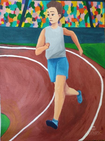 Вперед к победе!, Азаренко Татьяна, 13 лет, ГУО СШ №15, г. Могилев