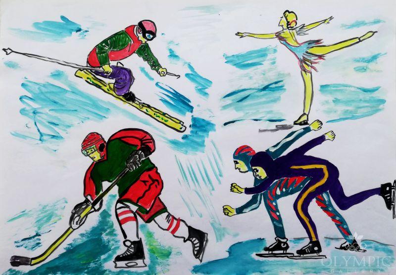 Все спортсмены хороши, Гамезо Захар, 9 лет, ГУДО Центр творчества детей и молодёжи, г. Червень