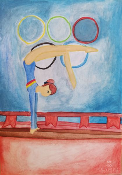 Гимнастка, Дудаль Виктория, 7 лет, ГУО Детский сад-начальная школа № 63, г. Гомель
