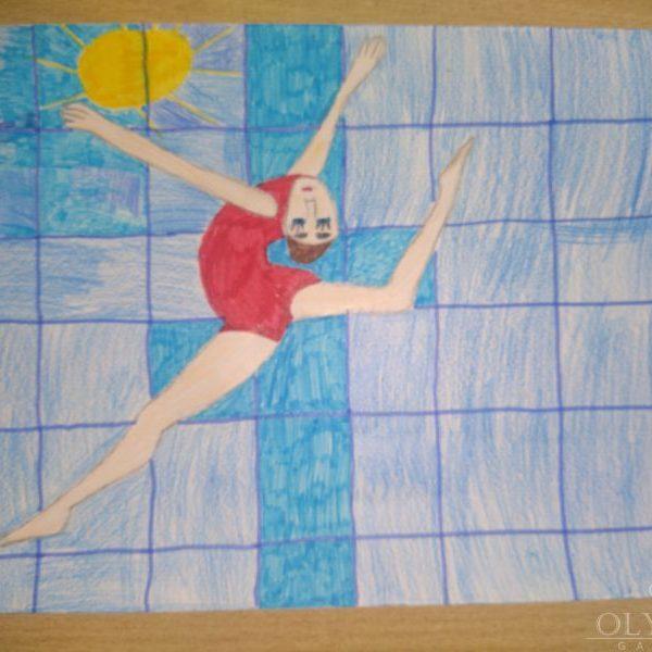 Гимнастка, Кожемякина Арина, 10 лет, ГУО Дрибинская средняя школа