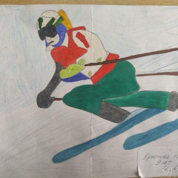 Гонки на лыжах, Крупнова Юлия, 9 лет, ГУО Дрибинская средняя школа