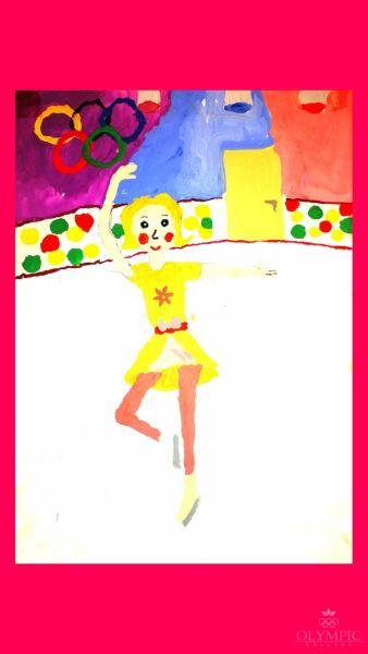 Звёздный танец, Руденкова Дарья, 14 лет, ГУО СШ №61, г. Гомель