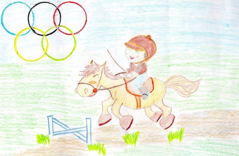 «Конный спорт - это интересно!», Лашковская Валерия, 6 лет, ГУО Учебно-педагогчический комплекс ясли-сад-начальная школа №6, г. Брест