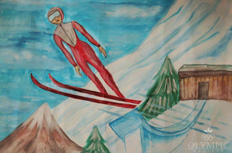 Лыжные гонки, Безносик Артём, 9 лет, ГУО Гимназия г.Житковичи им. А.А. Лихоты