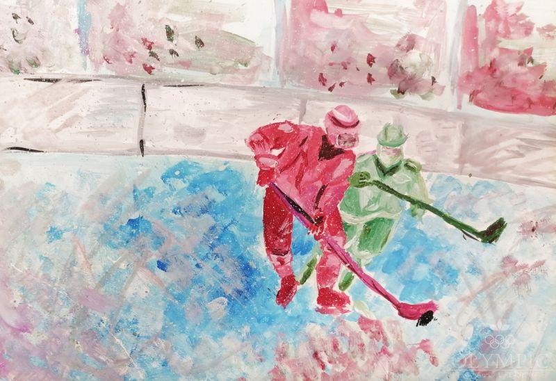 Мое увлечение хоккей, Почерняева Александра, 16 лет, ГУО СШ №52, г.Гомель