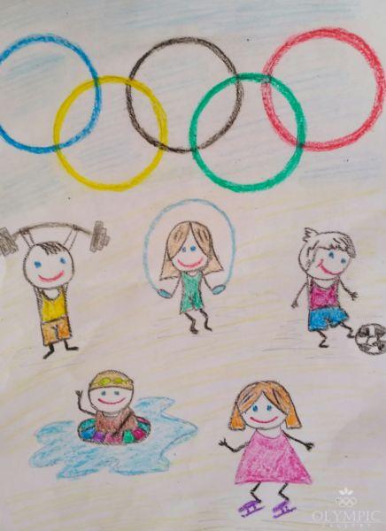 Нам покорятся олимпийские вершины, Юрчук Ксения, 7 лет, ГУО СШ №1, г.Осиповичи