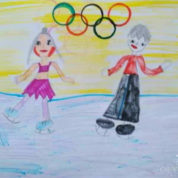 Наша победа в Зимней Олимпиаде, Усович Полина, 6 лет, ГУО СШ №1, г. Осиповичи