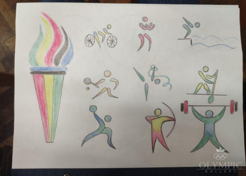 Олимпийский вид спорта, Иовчик Карина, 12 лет, ГУО Центр творчества детей и молодёжи Железнодорожного района г Гомель