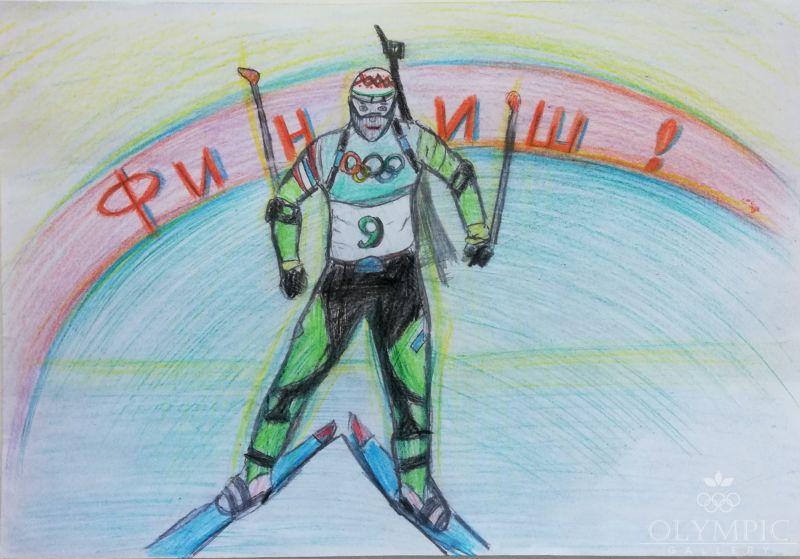 Снежный снайпер, Березовский Евгений, 10 лет, ГУДО Центр творчества детей и молодёжи, г. Червень
