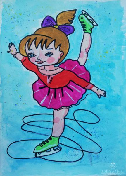 Спорт - мой друг, Малиновская Юлия, 13 лет, ГУДО Центр творчества детей и молодёжи, г. Червень
