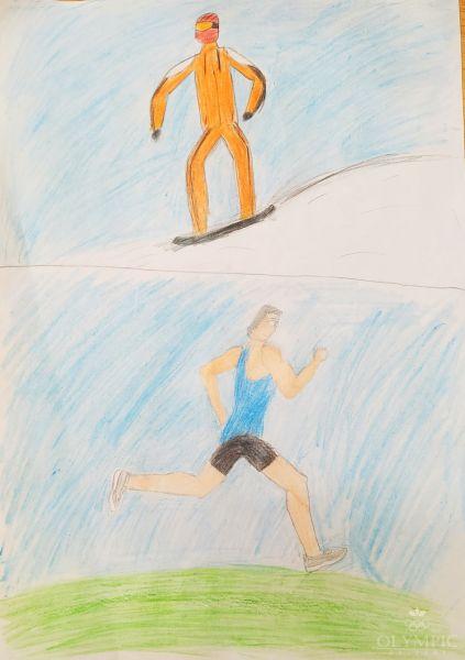 Спорт, спорт, спорт..., Герасюкевич Елизавета, 11 лет, ГУО СШ №1, г. Осиповичи