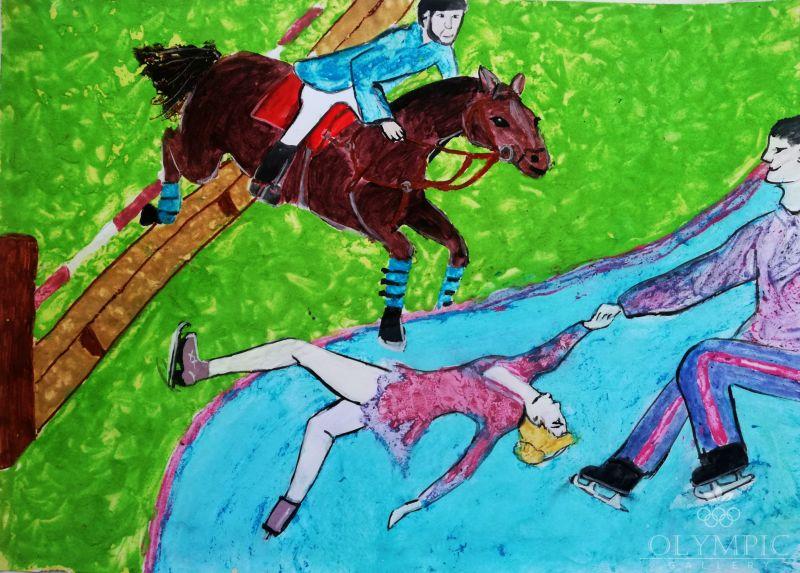 Спорт такой разный!, Крук Александр, 9 лет, ГУДО Центр творчества детей и молодёжи, г. Червень