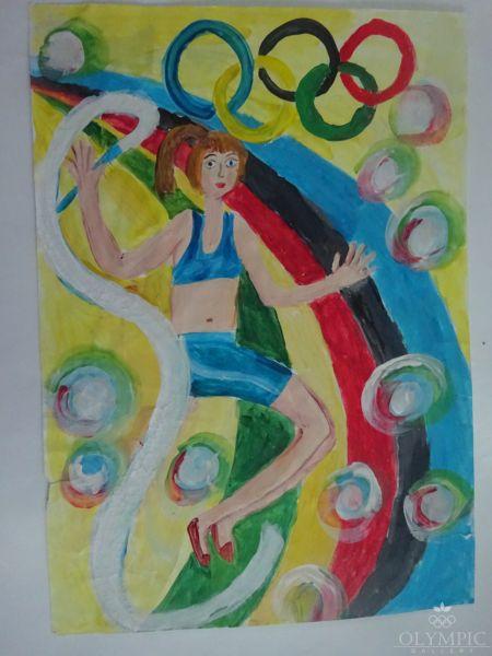 Спорт – это жизнь, Песляк Амалия, 10 лет, ГУО СШ №200, г.Минск