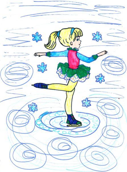 Танец снежинок, Клименкова Ульяна, 7 лет, ГУО СШ №2, г.Чечерск