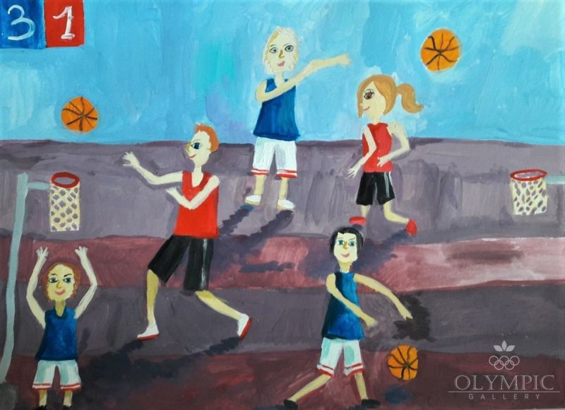 «Тренировка», Пляц Валерия, 8 лет, ЦДОДиМ АРТ