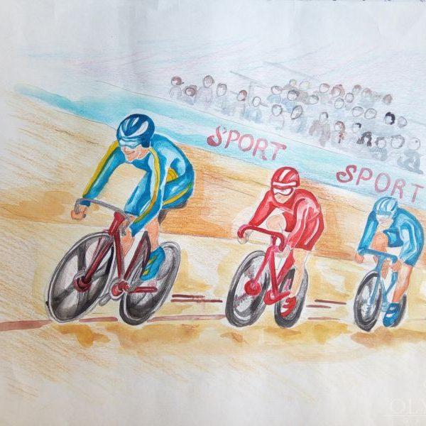 Трэковый велоспорт, Байко Софья, 10 лет, ГУО СШ №2, г.п. Глуска