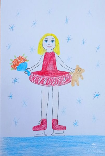 Фигурное катание, Харитонова Анна, 7 лет, ГУО Центр творчества детей и молодёжи Железнодорожного района г. Гомель